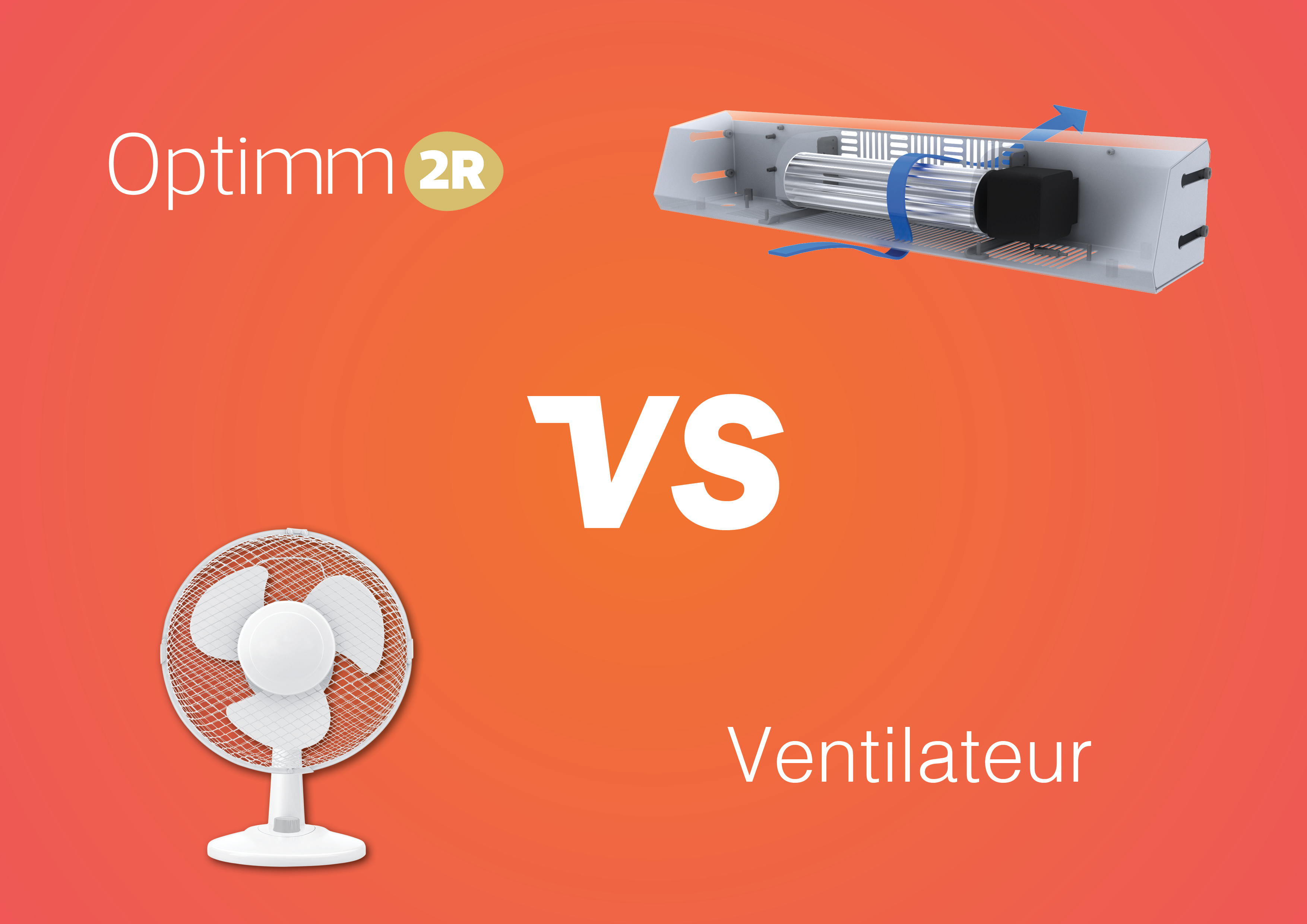 Ventilateur versus Optimm2R